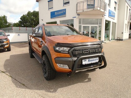 Ford Ranger Wildtrack orange